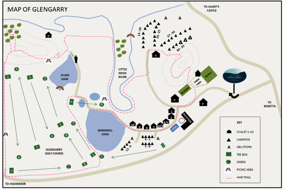 glengarry map